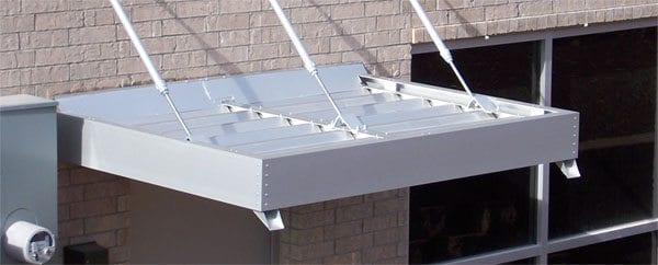 engineered & High Load Hanger Rod Canopies | Welhener Awning